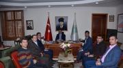 Tokat Valisi Dr. Ozan BALCI'ya hayırlı olsun ziyaretinde bulunduk